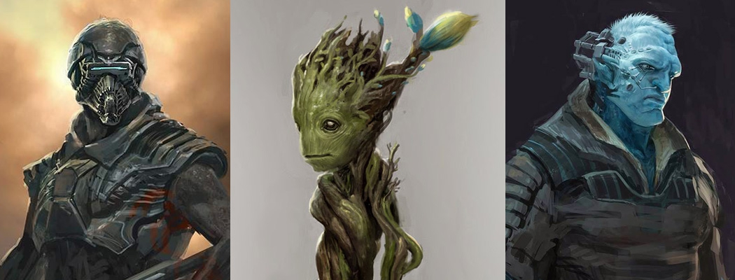 Guardians of the Galaxy Concept Art AF M01
