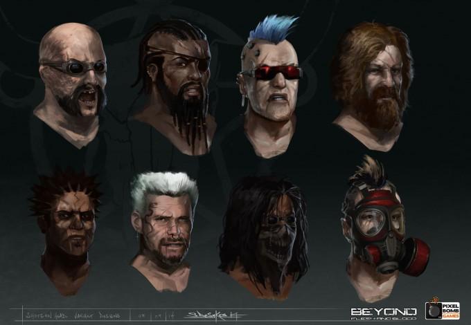 Beyond_Flesh_and_Blood_Concept_Art_Shotgun_Heads