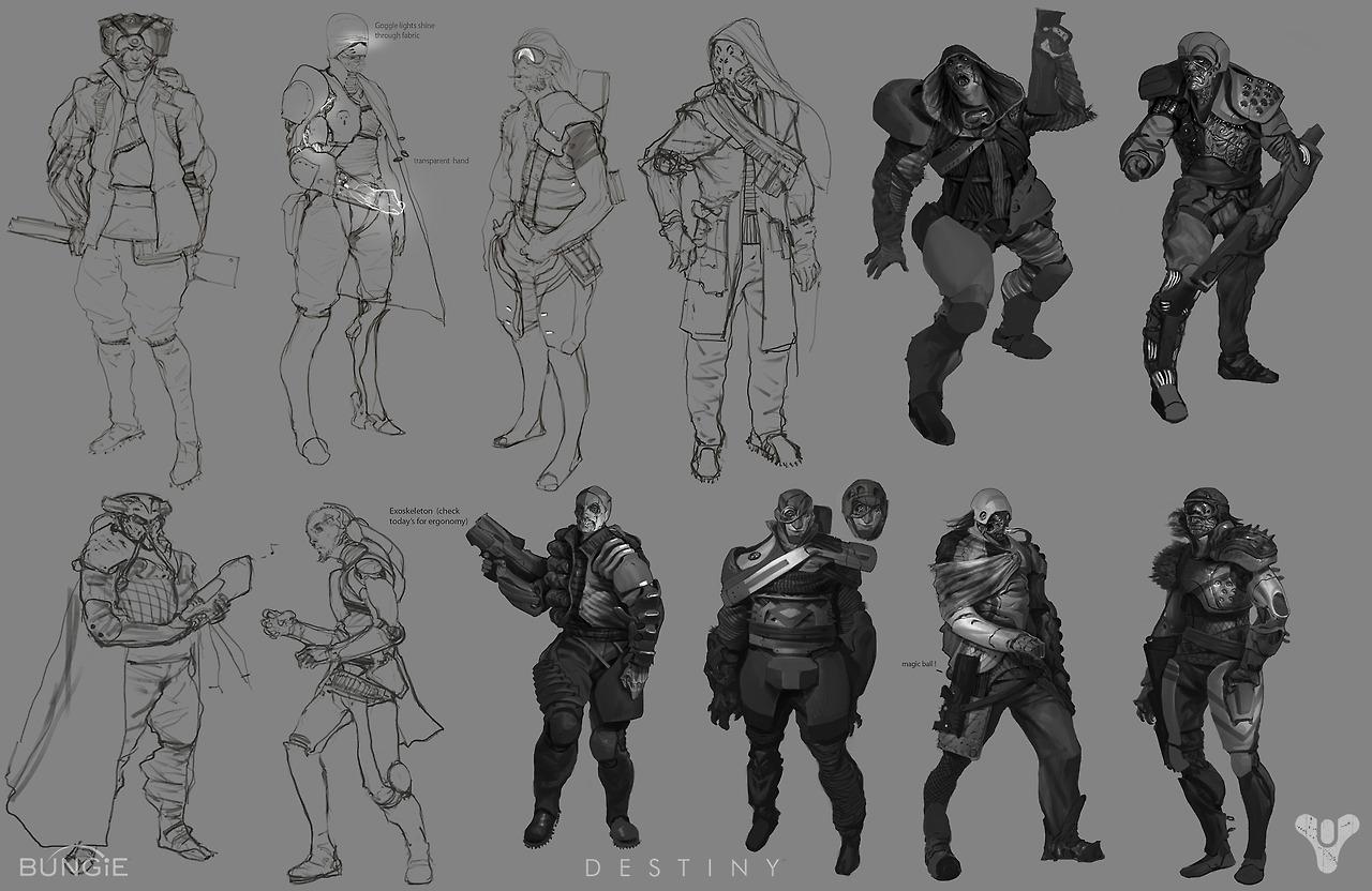 Destiny Concept Art By Daniel Chavez World