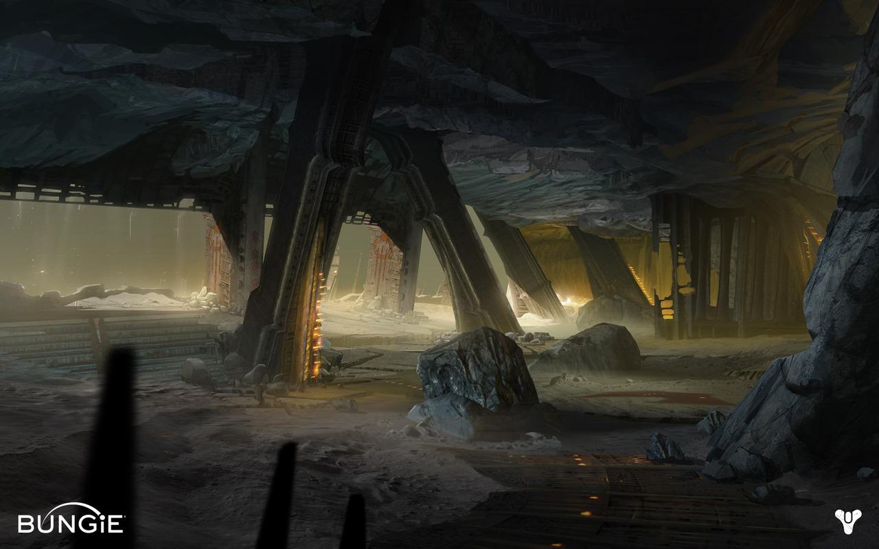 Destiny Concept Art By Darren Bacon Concept Art World