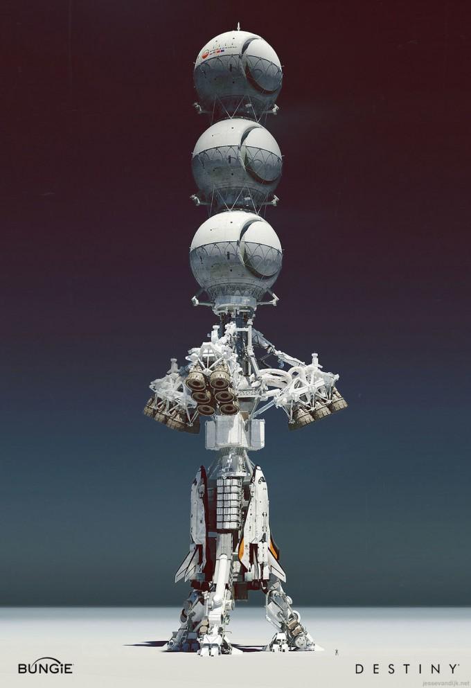 Destiny_Concept_Art_Jesse_van_Dijk_colonyship_02