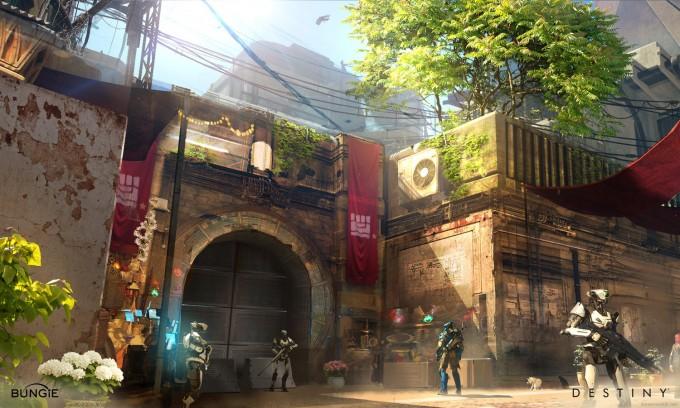 Destiny_Concept_Art_Jesse_van_Dijk_tower_04