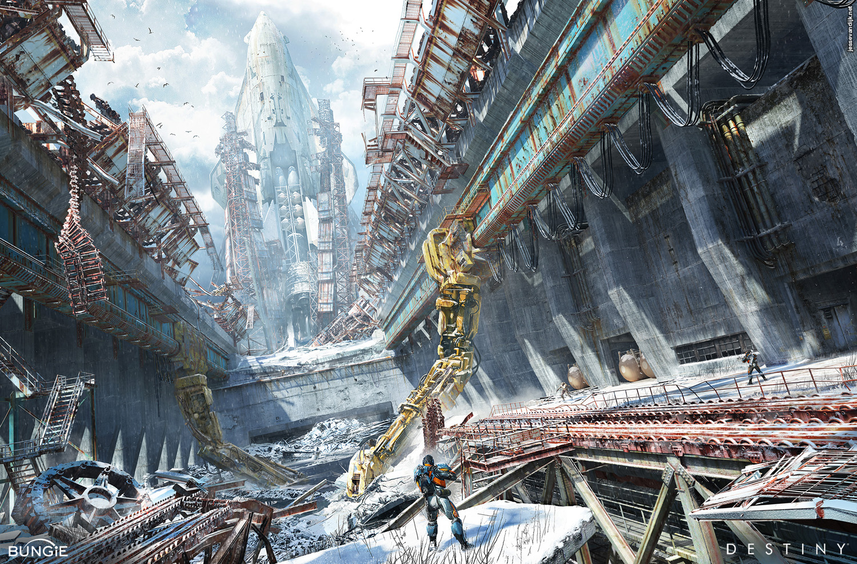 Destiny Concept Art by Jesse van Dijk | Concept Art World