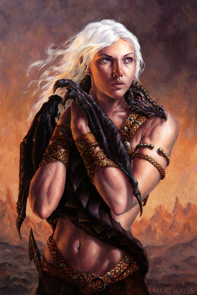 Game_of_Thrones_Concept_Art_Illustration_01_Michael_C_Hayes_Mother_of_Dragons