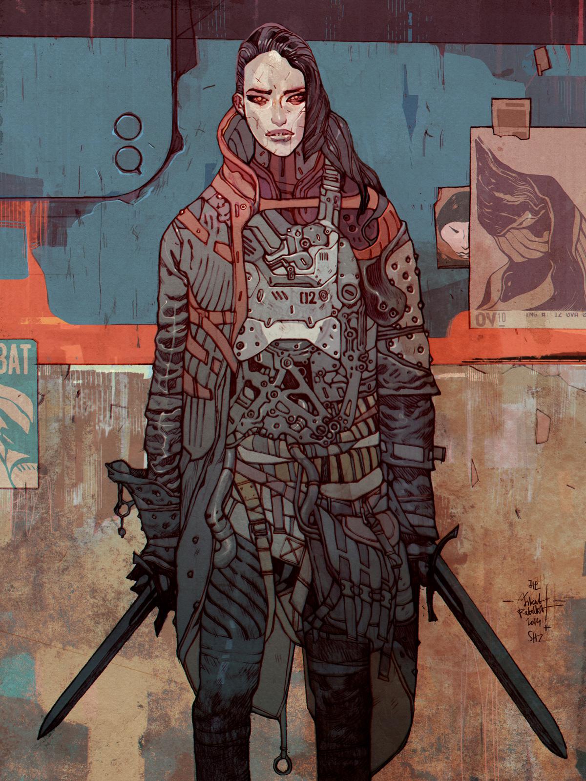 Jakub Rebelka Art Digital Assassin