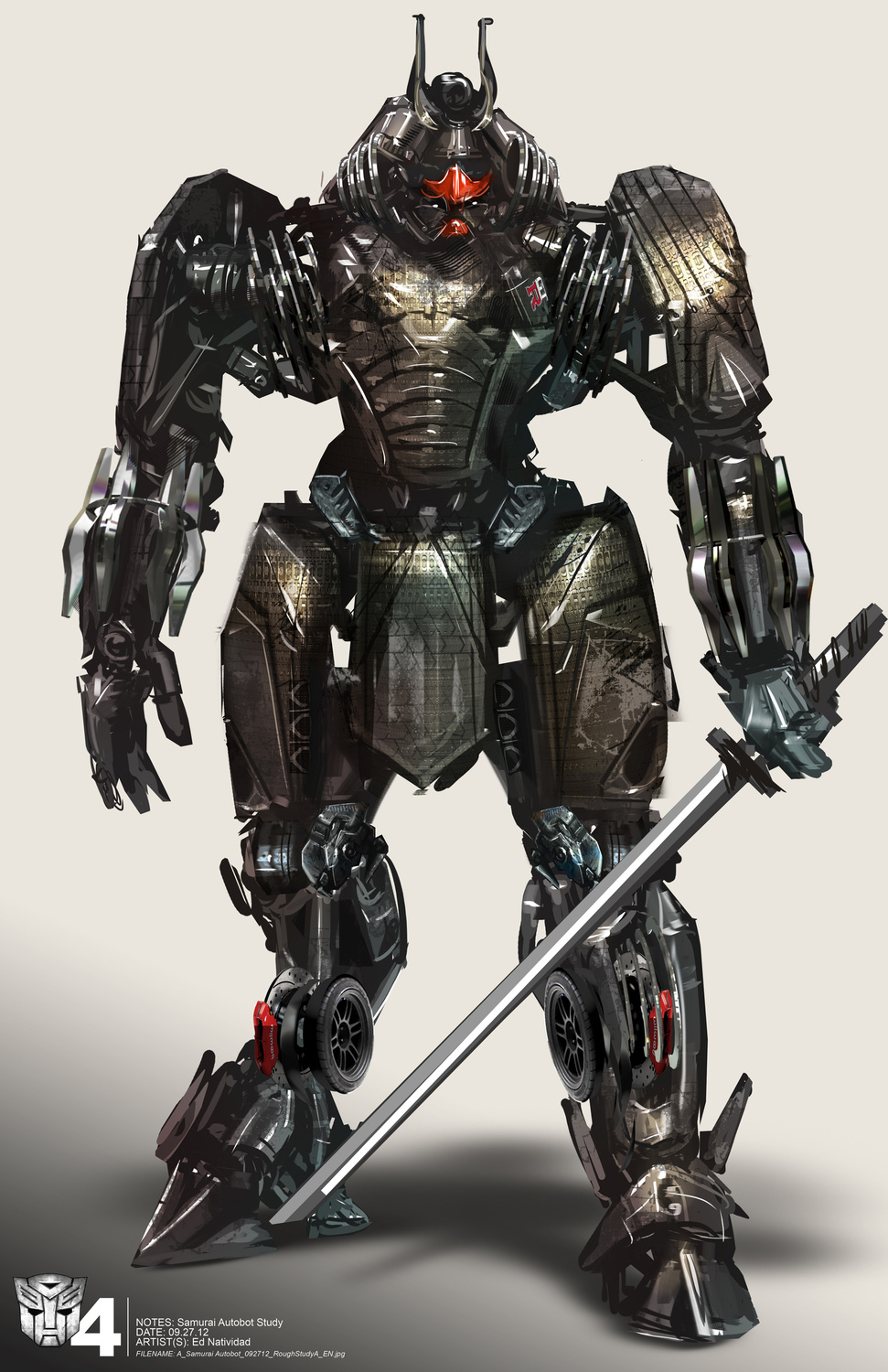 Transformers: Age of Extinction Concept Art by Ed ... Transformers