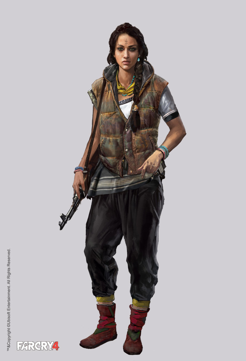 The Characters Of The Cups: Far Cry 4 Character Concept Art By Aadi Salman