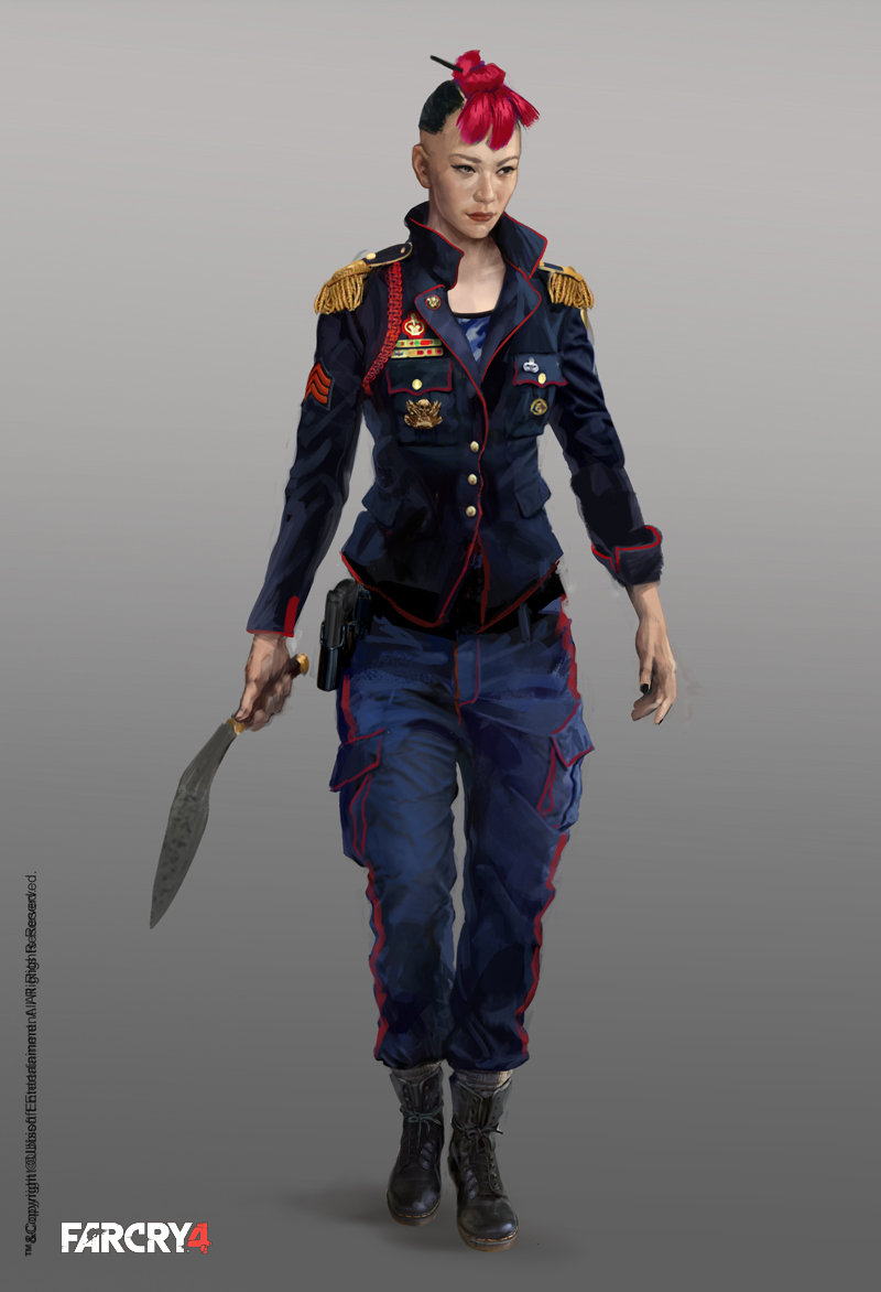 Far Cry 4 Character Concept Art By Aadi Salman Concept Art World