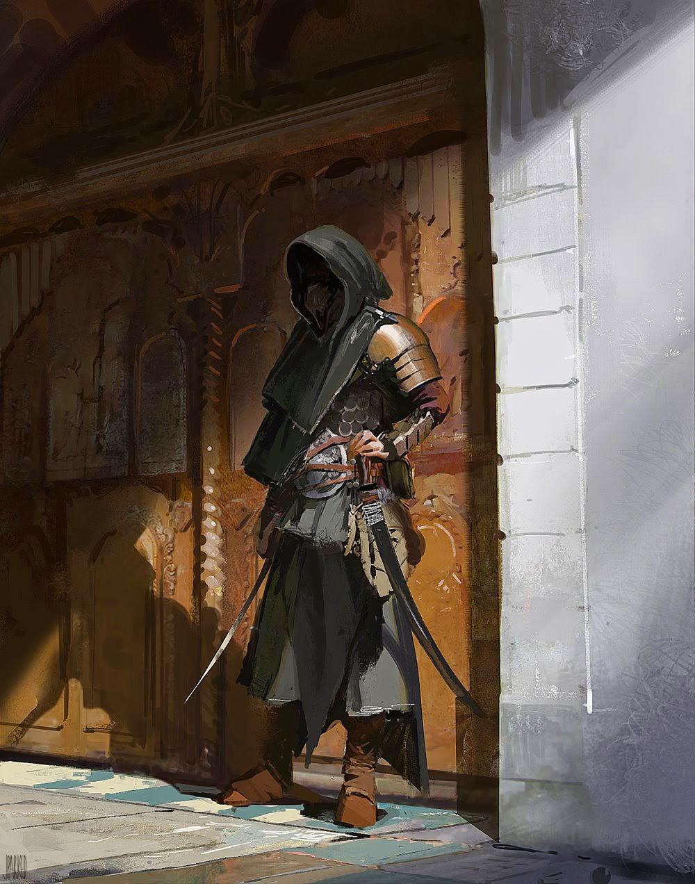 Assassins and Warrior Concept Art by John J. Park ...  Assassins and W...