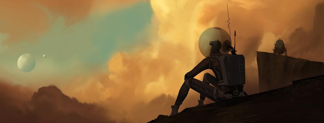 Space Astronaut Concept Art 00m