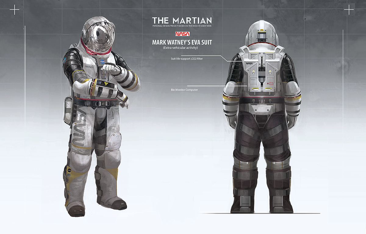 astronaut suit concept - photo #7