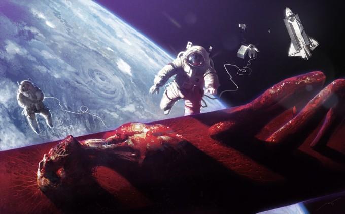 Space_Astronaut_Concept_Art_02_Pierre_Droal_Sarcophage
