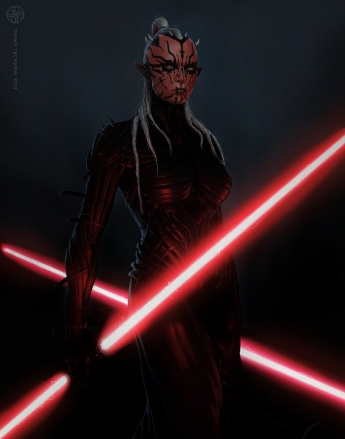 Star_Wars_Art_Illustration_01_Furio_Tedeschi_Concept_Sith_Fem
