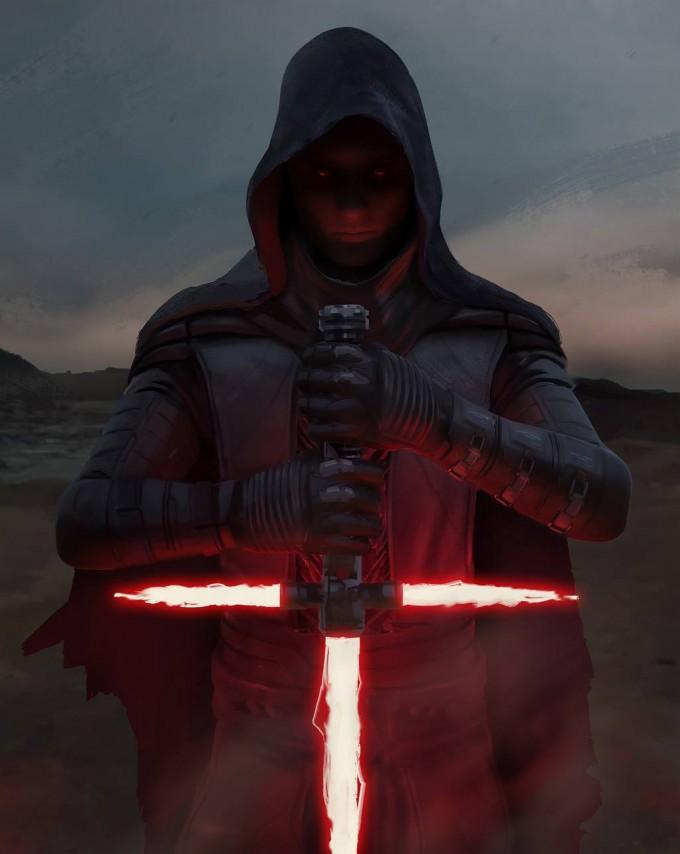 Star_Wars_Art_Illustration_01_Gary_Jamroz_The_Force_Awakens