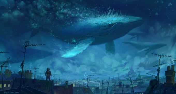 Artur_Sadlos_Concept_Art_whale_rider