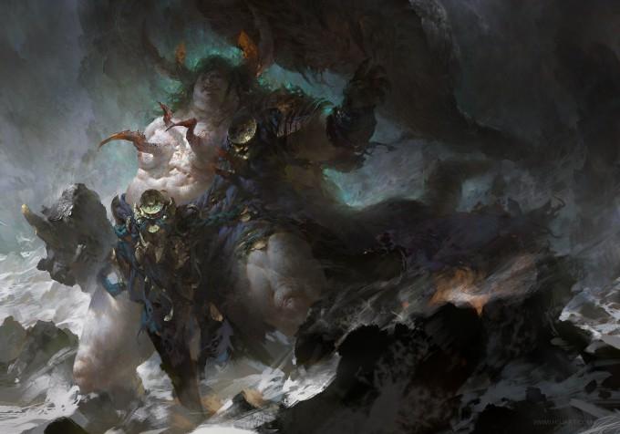 Guangjian_Huang_Art_fat-scorpion-king