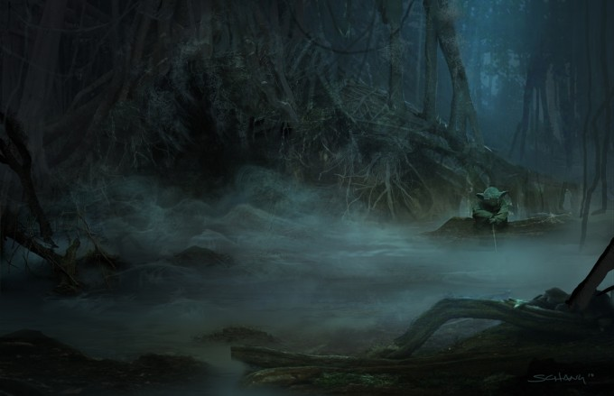 Star_Wars_Art_Illustration_01_Stephen_Chang_Yoda