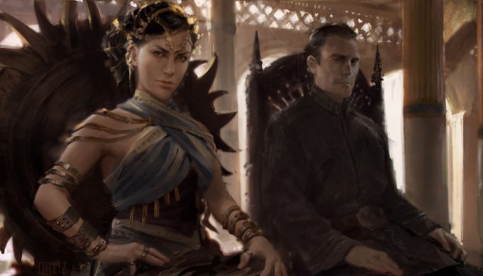 Game of Thrones Art Karla Ortiz The World of Ice Fire The Untold History of Westeros Nymeria Mors