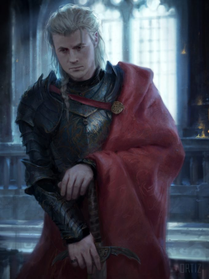Game of Thrones Art Karla Ortiz The World of Ice Fire The Untold History of Westeros Rhaegar Targaryen