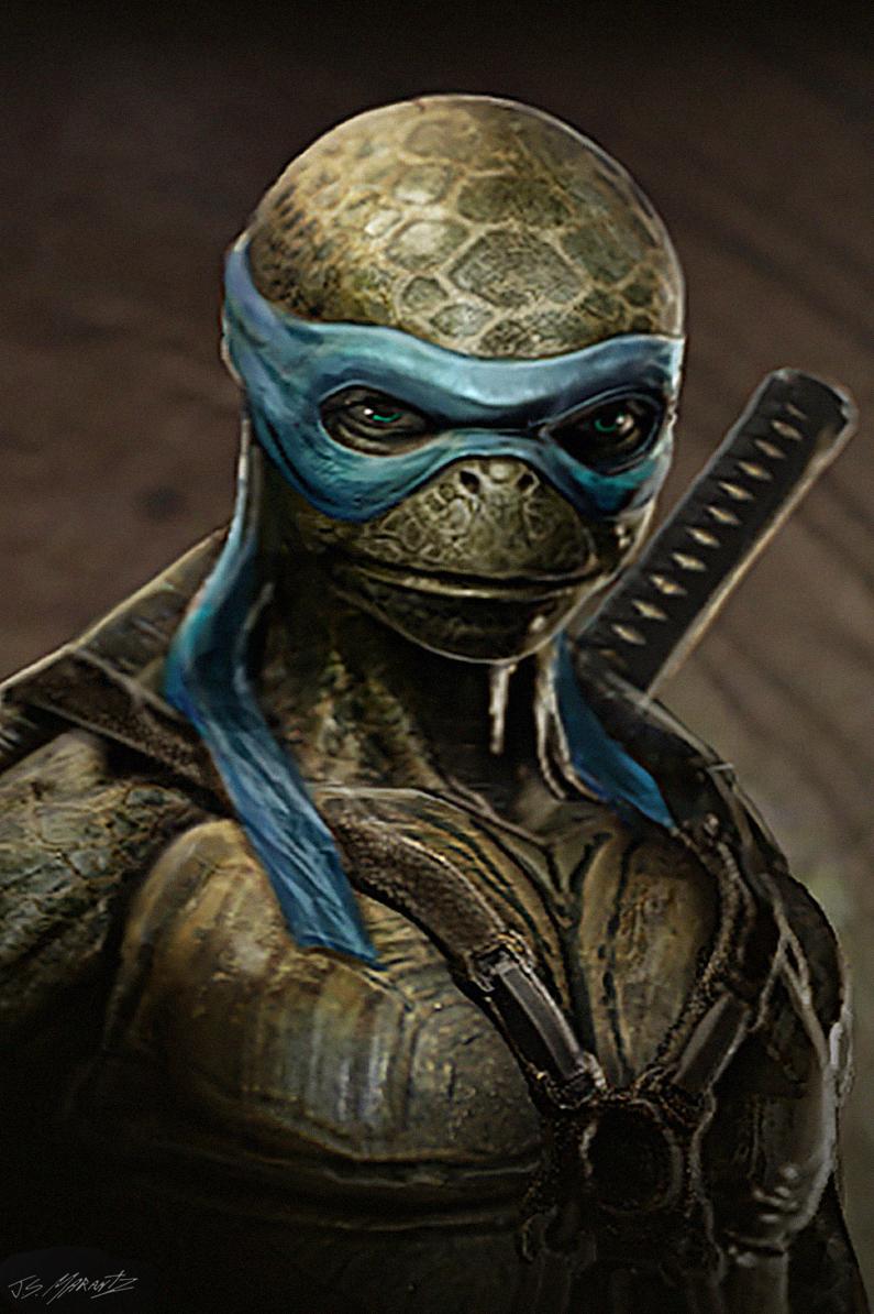 Teenage Mutant Ninja Turtles Concept Designs By Jerad