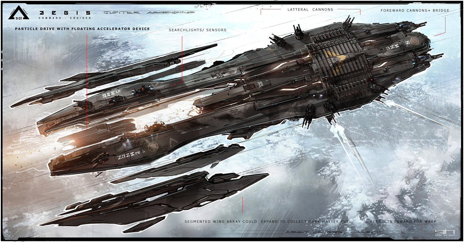 Jupiter Ascending Concept Art By George Hull Concept Art