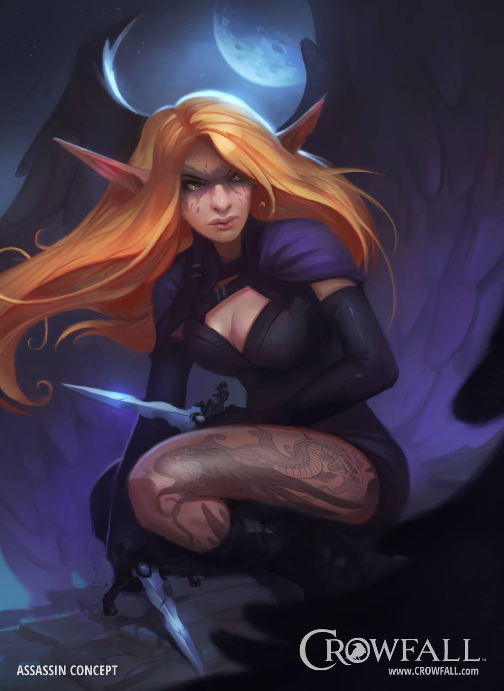 Crowfall Concept Art By Dave Greco Concept Art World