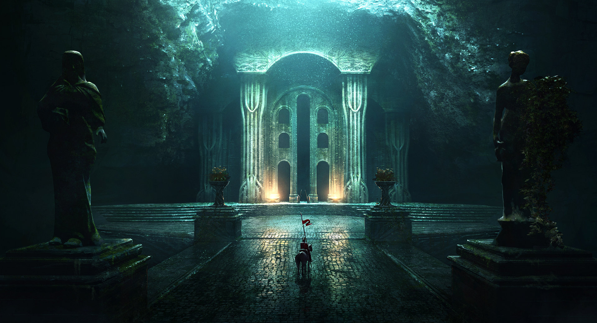 An overview of the concept art