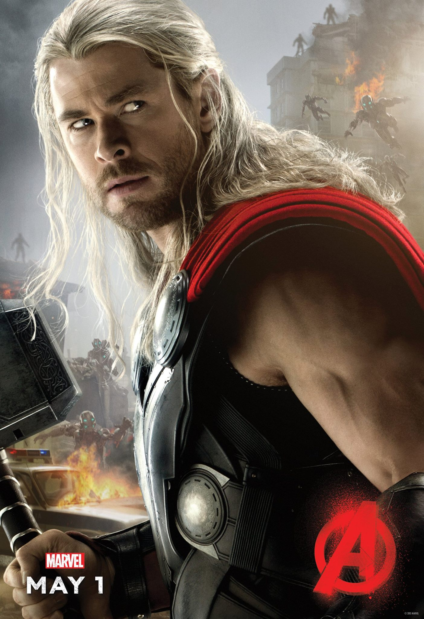 The Avengers Age of Ultron Thor Avengers Age of Ultron Poster