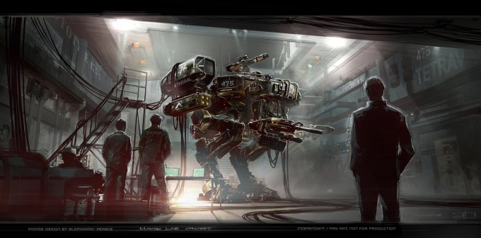 Chappie_Concept_Art_George_Hull_Moose_Mech_02