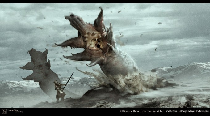 The_Hobbit_Battle_of_the_Five_Armies_Concept_Art_Andre_Baker_Creature_Worm