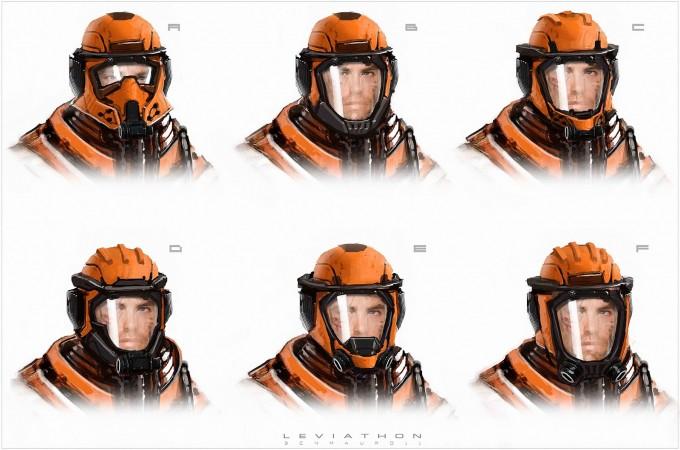 The_Leviathan_Concept_Art_Ben_Mauro_helmet_variants