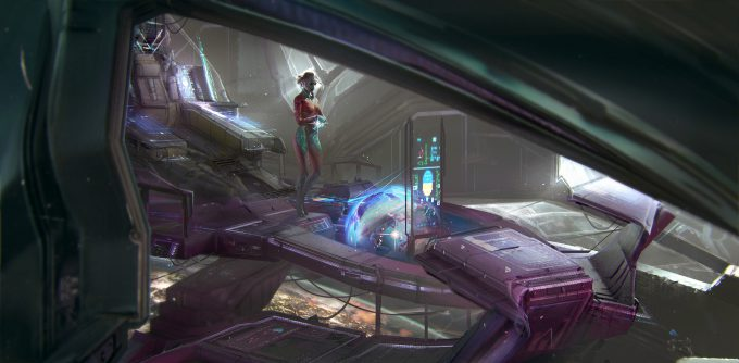 magdalena radziej spaceship 02