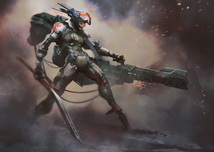 Arman Akopian Concept Art Illustration Assault Unit