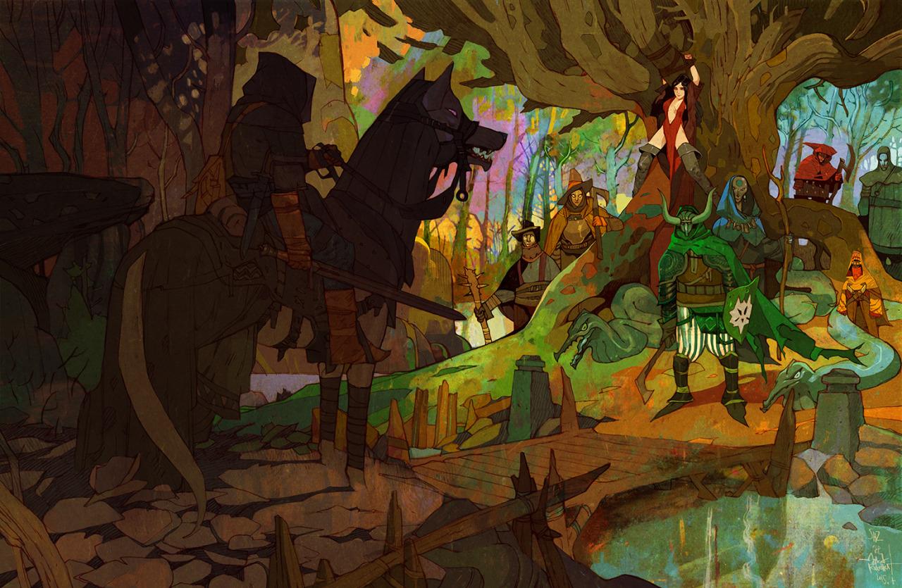 Вдохновляющие картинки Jakub_Rebelka_Art_Illustration_150508