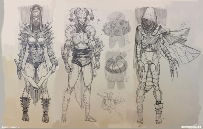 Mortal_Kombat_X_MKX_Concept_Art_MN_Dvorah_03