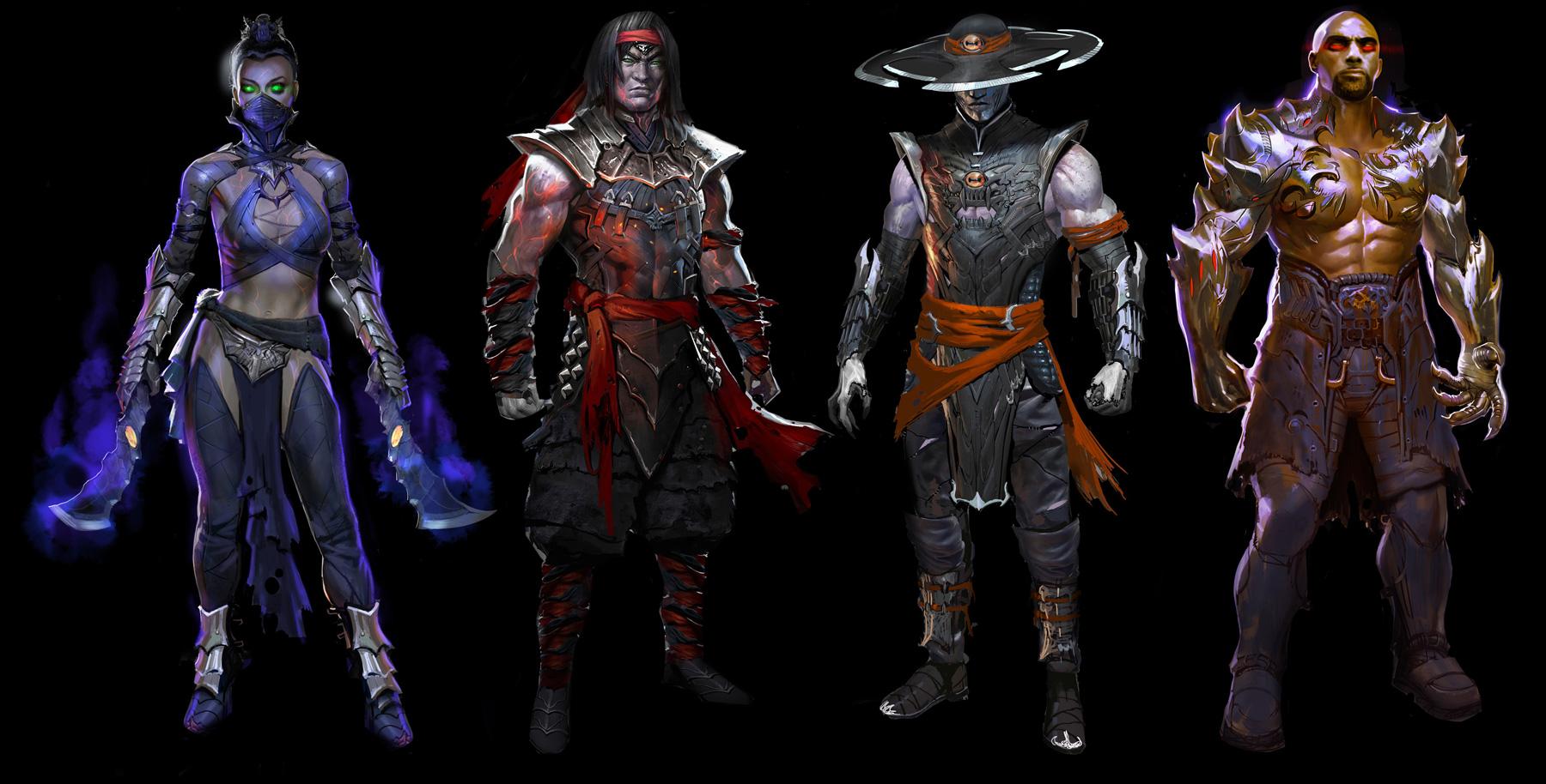 Exclusive Mortal Kombat X Concept Art By Marco Nelor Concept