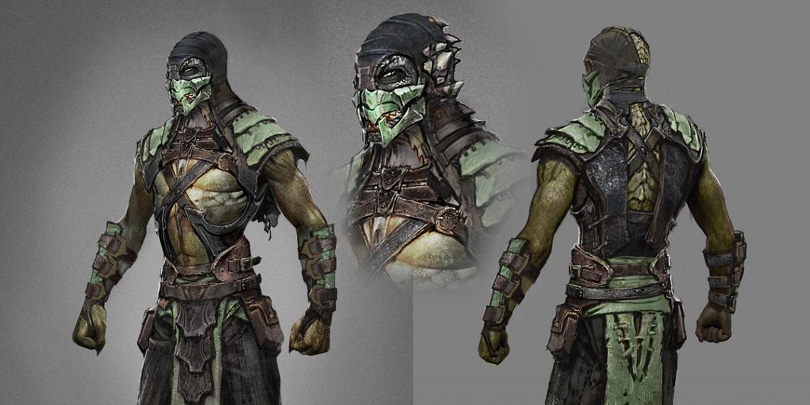 Mortal Kombat X MKX Concept Art JM 01M