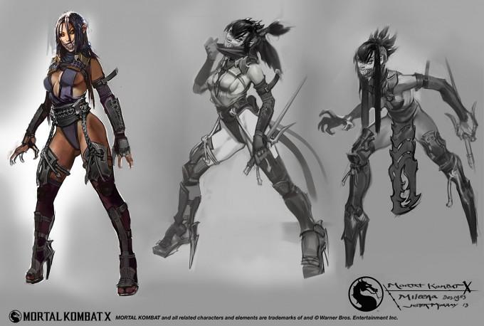 Mortal_Kombat_X_MKX_Concept_Art_JM_Mileena_designs