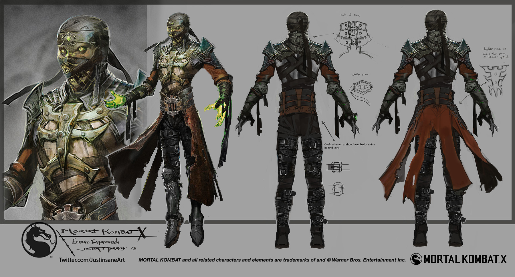 Exclusive Mortal Kombat X Concept Art By Justin Murray