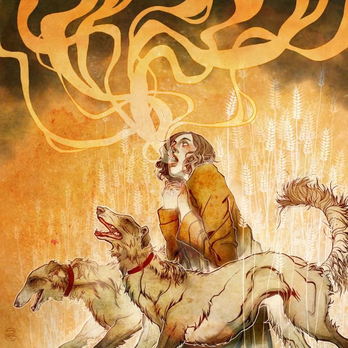 Sam_Schechter_Art_Illustration_russian_wolfhounds