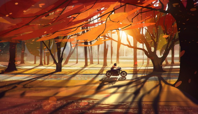 Bastien_Grivet_Concept_Art_Autumn-Countryside