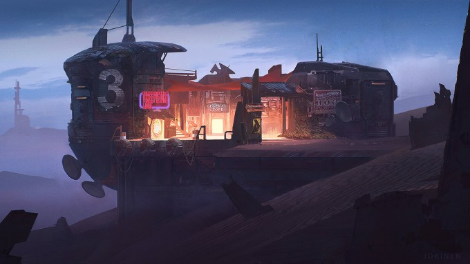 Juhani_Jokinen_Concept_Art_three_pistons_lodge