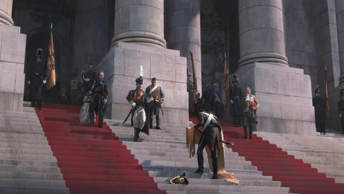After_the_loss_at_the_Battle_of_Austerlitz_Concept_Art_Nick_Gindraux_01