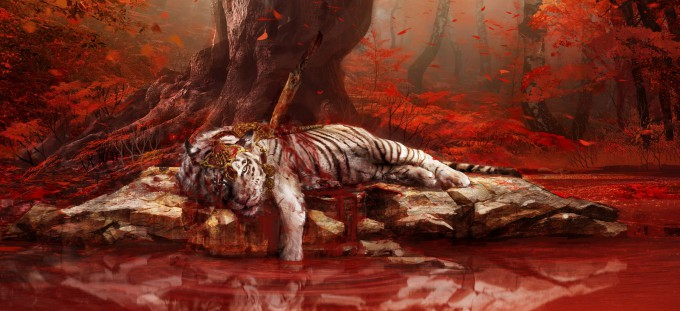 Far_Cry_4_Concept_Art_Kay_Huang_injuredtiger_teethrev03