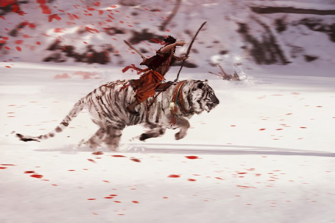 Far_Cry_4_Concept_Art_Kay_Huang_white-tiger-with-rider