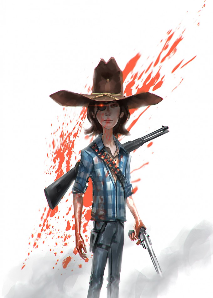 Jeremy_Fenske_The_Walking_Dead_Fan_Art_Carl