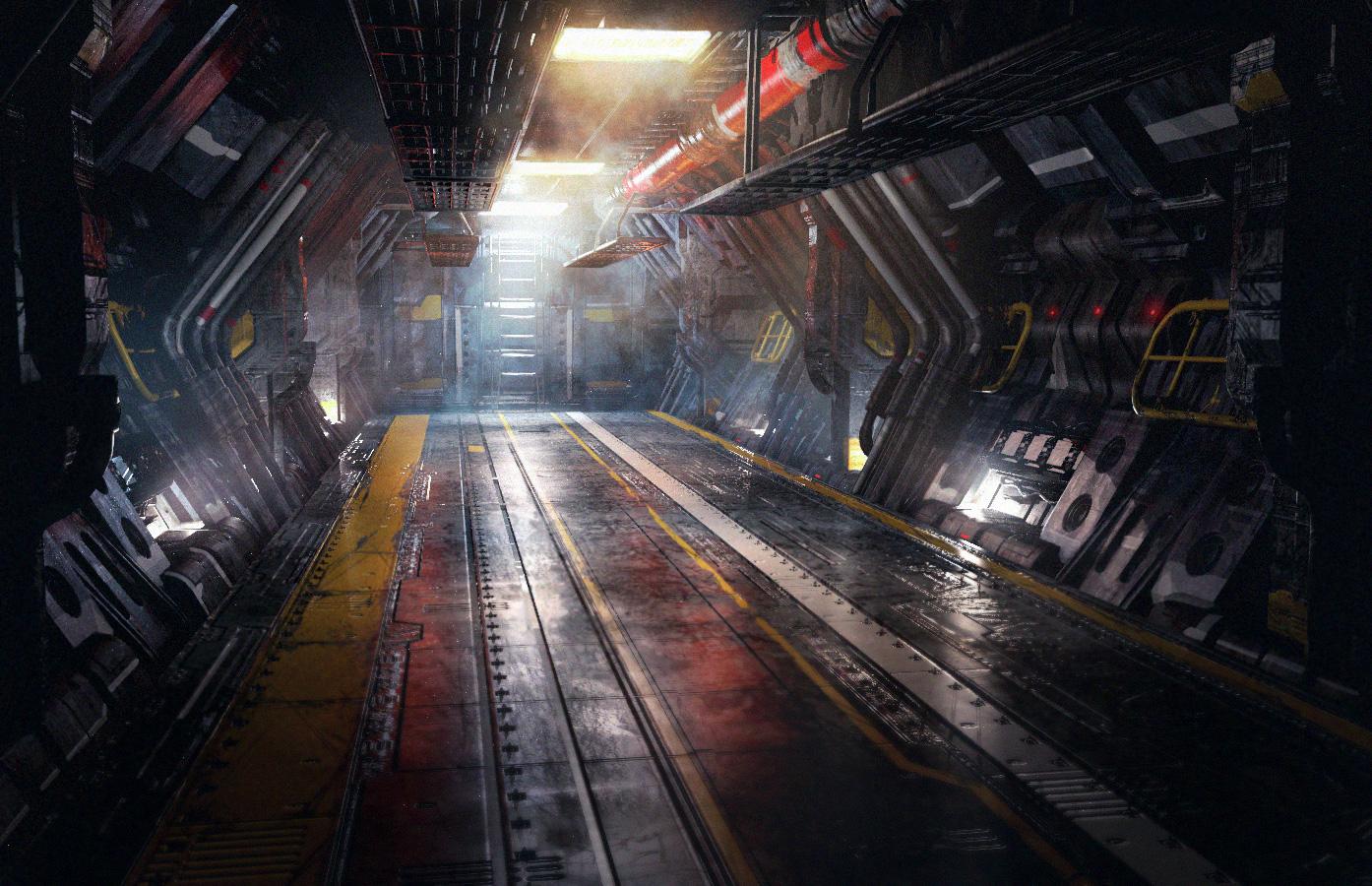 Elijah mcneal concept art world for Sci fi decor