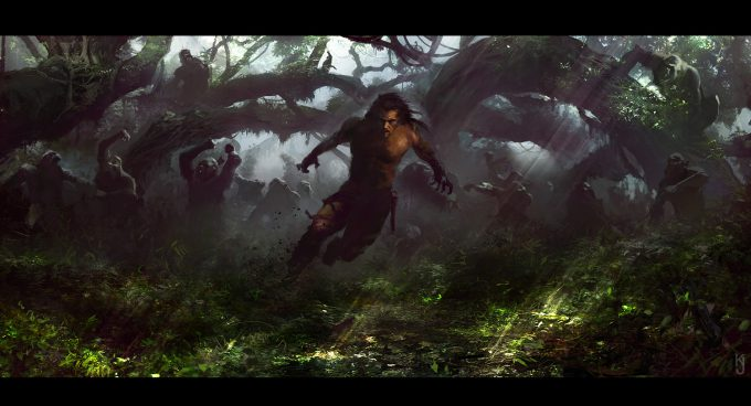 Tarzan_Concept_Art_KJ__gorilla
