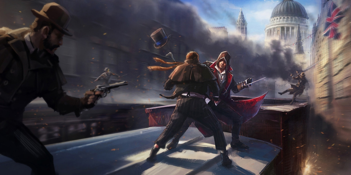 1 Assassins Creed Syndicate Concept Art FA env BankOfEngland Courtyard M01
