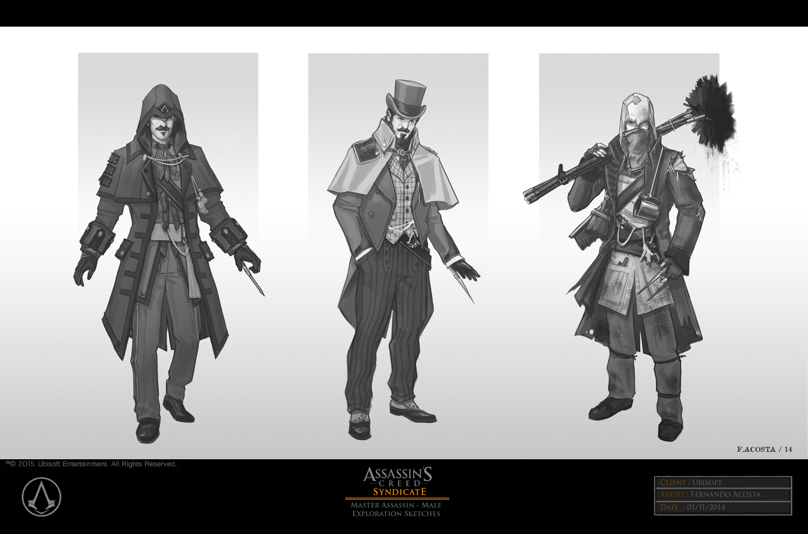 Assassin S Creed Syndicate Concept Art By Fernando Acosta Concept Art World